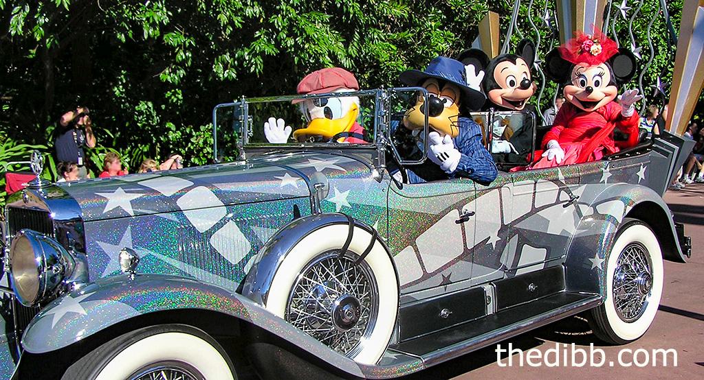 Disney Motorcade