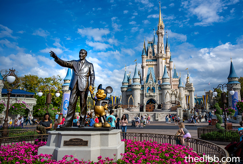 Walt Mickey Magic Kingdom