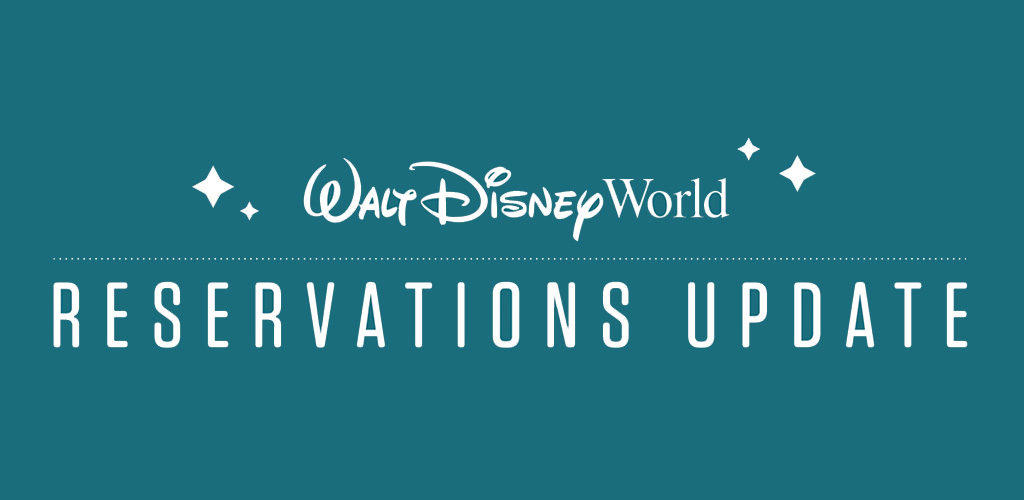 wdw reservation update