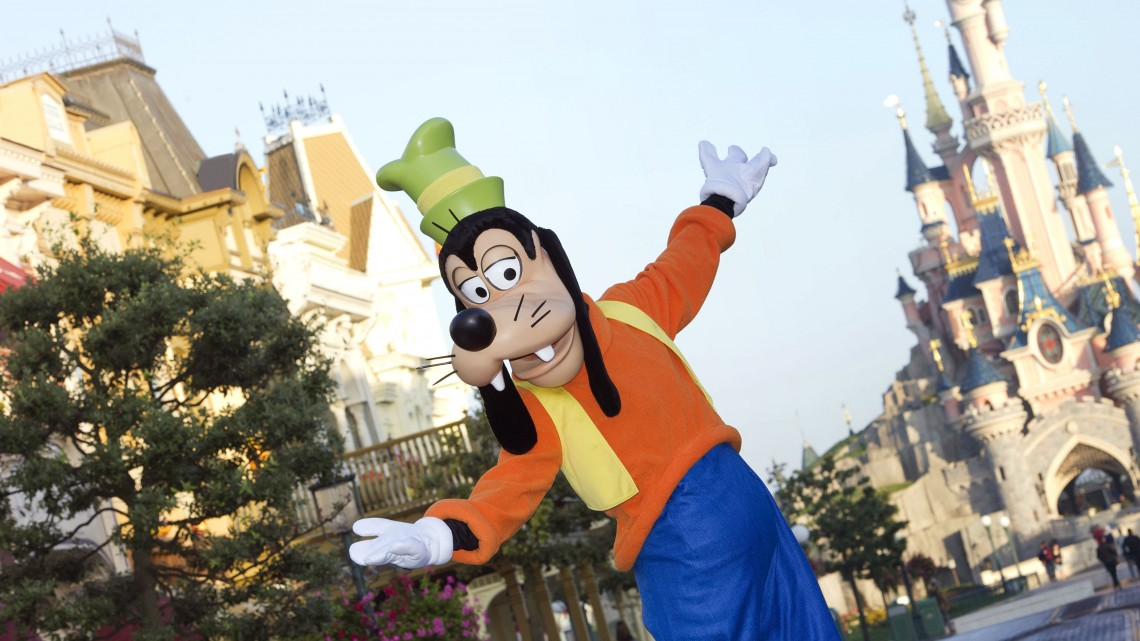 Disneyland Paris Goofy