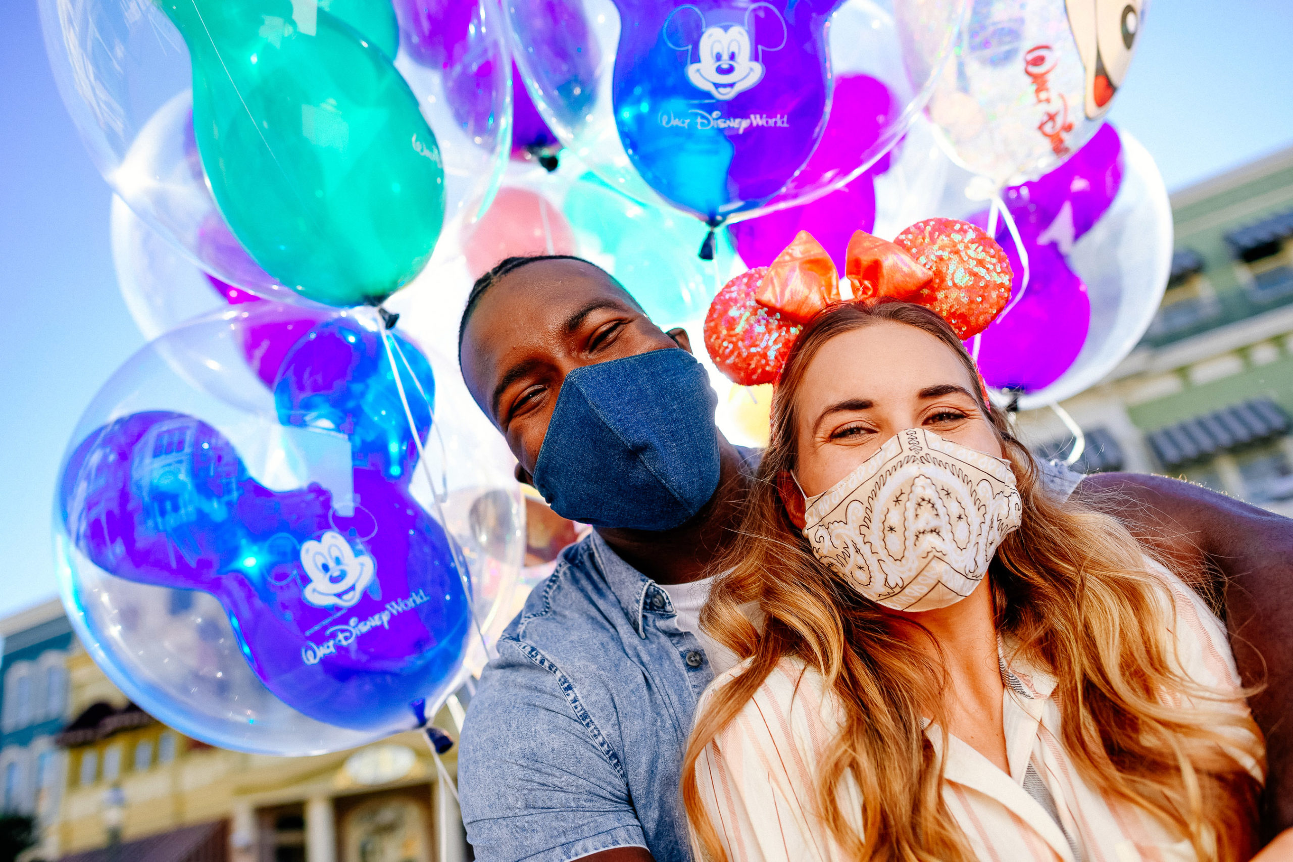 Disney Guests Wearing Face Coverings