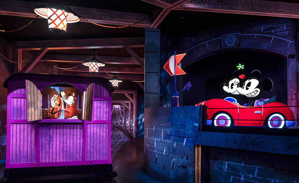 Mickey and Minnie Runaway Railroad