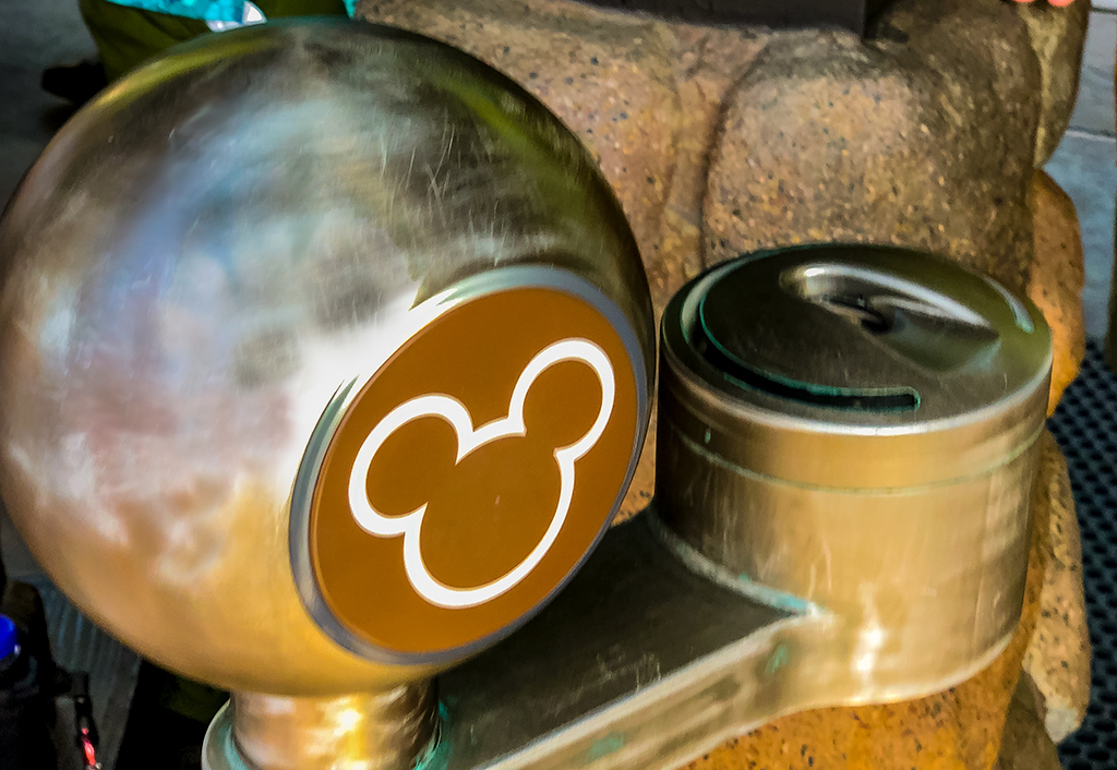 Disney Fingerprint Scanner