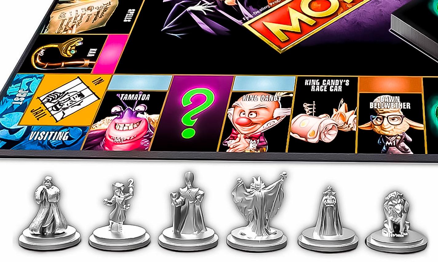 Disney Villains Monopoly Characters
