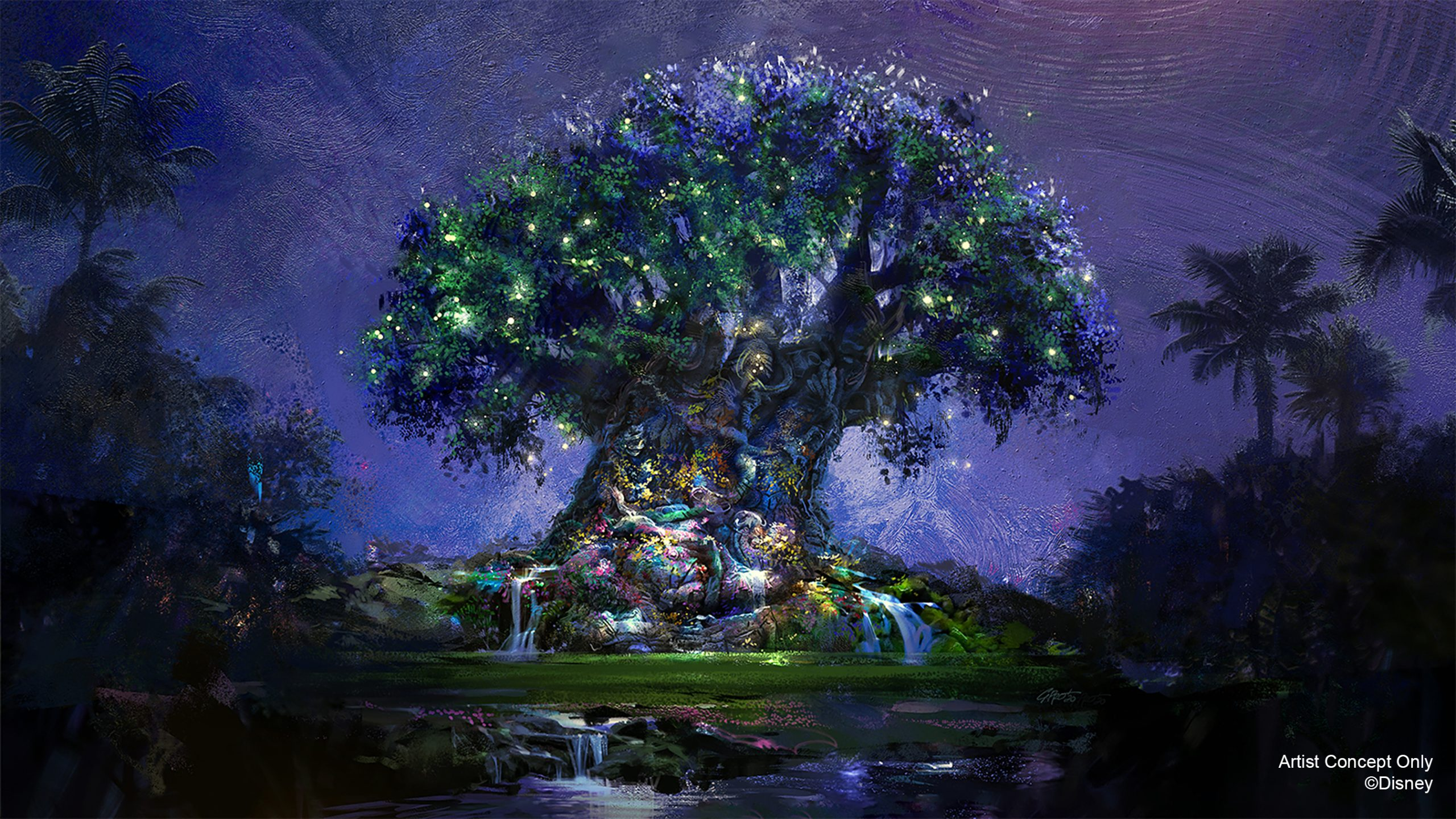 Animal Kingdom Tree of Life 50th Anniversary