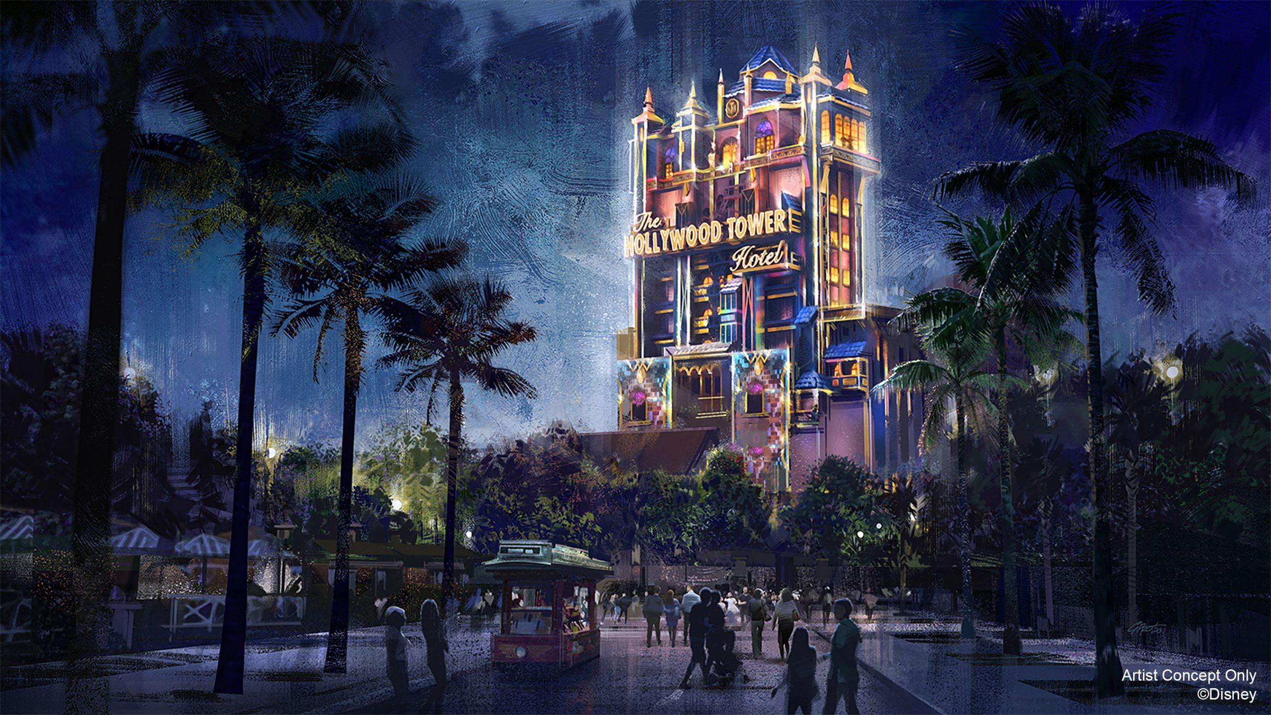 Disney Hollywood Studios Tower of Terror 50th Anniversary