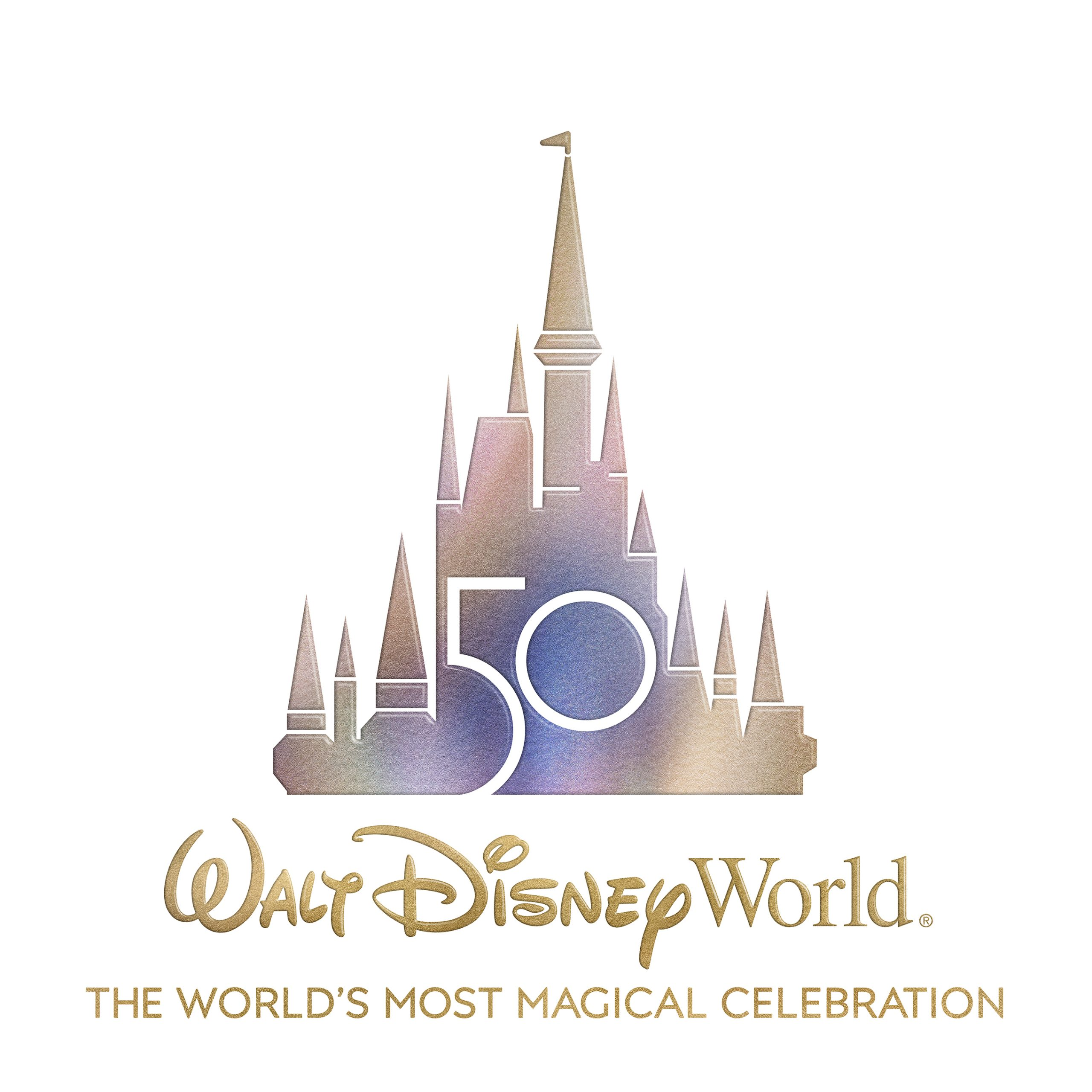 WDW 50th Anniversary Logo